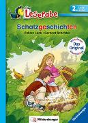 Cover-Bild zu Schatzgeschichten - Leserabe 2. Klasse - Erstlesebuch für Kinder ab 7 Jahren von Lenk, Fabian