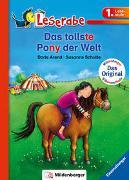 Cover-Bild zu Das tollste Pony der Welt - Leserabe 1. Klasse - Erstlesebuch für Kinder ab 6 Jahren von Arend, Doris