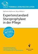 Cover-Bild zu Formulierungshilfen Expertenstandard Sturzprophylaxe in der Pflege von Hellmann, Stefanie