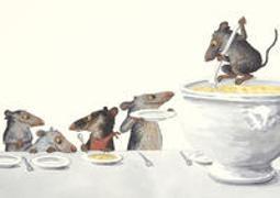 Cover-Bild zu Schärer, Kathrin (Illustr.): Suppensch-mäuse Postkarten 1=10