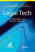Cover-Bild zu Scheicht, Katrin (Weitere Bearb.): Legal Tech (eBook)