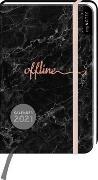 Cover-Bild zu myNOTES Buchkalender Offline DIN A6 2021