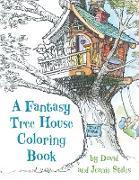 Cover-Bild zu Stiles, David: A Fantasy Tree House Coloring Book
