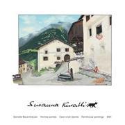 Cover-Bild zu Susanna Kuratli - 2021 - Gemalte Bauernhäuser - Kunstkalender von Kuratli, Susanna