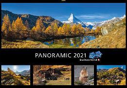 Cover-Bild zu Cal. Panoramic Switzerland 2021 Ft. 48x33