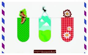 Cover-Bild zu Magnetlesezeichen Fernweh Berge