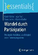Cover-Bild zu Müller, Martin: Wandel durch Partizipation (eBook)