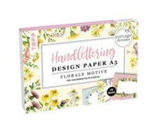 Cover-Bild zu Blum, Ludmila: Handlettering Design Paper Block Cottage Dreams A5