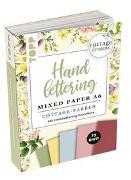 Cover-Bild zu Blum, Ludmila: Handlettering Mixed Paper Block Cottage Dreams A6