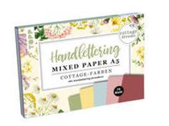 Cover-Bild zu Blum, Ludmila: Handlettering Mixed Paper Block Cottage Dreams A5