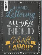 Cover-Bild zu Blum, Ludmila: Handlettering All you need. Schrift & Layout