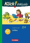 Cover-Bild zu Klick! inklusiv - Grundschule / Förderschule, Mathematik, 3./4. Schuljahr, Größen, Themenheft 11 von Burkhart, Silke