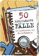 Cover-Bild zu 50 rätselhafte Fälle für Codeknacker und Junior-Detektive