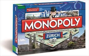 Cover-Bild zu Monopoly Zürich