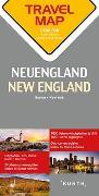 Cover-Bild zu Reisekarte Neuengland 1:800.000. 1:20'000