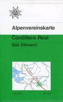 Cover-Bild zu Cordillera Real Süd (Illimani). 1:50'000