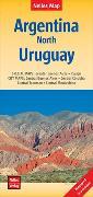 Cover-Bild zu Nelles Map Landkarte Argentina: North, Uruguay | Argentinien : Nord, Uruguay | Argentine : Nord, Uruguay | Argentina : Norte, Uruguay. 1:2'500'000