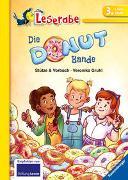 Cover-Bild zu Die Donut-Bande - Leserabe 3. Klasse - Erstlesebuch für Kinder ab 8 Jahren von Stütze, Annett