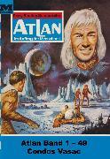 Cover-Bild zu Atlan-Paket 1: Condos Vasac (eBook) von Francis, H.G.