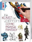 Cover-Bild zu frechverlag: Die Kunst des Zeichnens - Comic, Manga, Fantasy