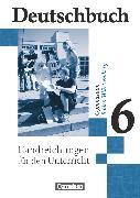 Cover-Bild zu Deutschbuch Gymnasium, Baden-Württemberg - Ausgabe 2003, Band 6: 10. Schuljahr, Handreichungen für den Unterricht von Fingerhut, Karlheinz