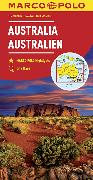 Cover-Bild zu Australia Marco Polo Map. 1:4'000'000