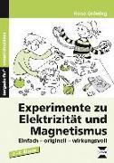 Cover-Bild zu Experimente zu Elektrizität und Magnetismus von Gröning, Ilona