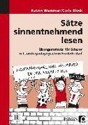 Cover-Bild zu Sätze sinnentnehmend lesen von Wemmer, Katrin