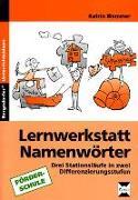 Cover-Bild zu Lernwerkstatt Namenwörter von Wemmer, Katrin