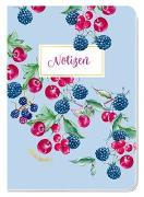 Cover-Bild zu Groh Kreativteam (Hrsg.): Notizheft Blütenzauber Beeren