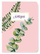 Cover-Bild zu Groh Kreativteam (Hrsg.): Notizheft Blütenzauber Eukalyptus
