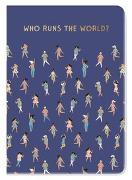 Cover-Bild zu Groh Kreativteam (Hrsg.): Notizheft Who runs the world?