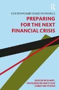 Cover-Bild zu De Bandt, Olivier: Preparing for the Next Financial Crisis (eBook)