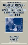 Cover-Bild zu Pfister, Christian: Bevölkerungsgeschichte und historische Demographie 1500-1800 (eBook)