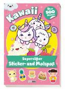 Cover-Bild zu Panini: Kawaii: Supersüßer Sticker- und Malspaß