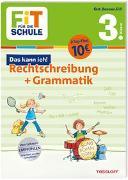 Cover-Bild zu FiT FÜR DIE SCHULE. Das kann ich! Rechtschreibung + Grammatik 3. Klasse von Helmchen, Sabine