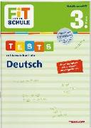 Cover-Bild zu FiT FÜR DIE SCHULE. Tests mit Lernzielkontrolle. Deutsch 3. Klasse von Meyer, Julia