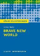 Cover-Bild zu Huxley, Aldous: Brave New World - Schöne neue Welt von Aldous Huxley