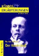 Cover-Bild zu Süskind, Patrick: Der Kontrabaß von Patrick Süskind. Textanalyse und Interpretation (eBook)