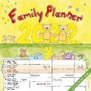 Cover-Bild zu ALPHA EDITION (Hrsg.): Familienplaner Cartoon 2022 - Broschürenkalender 30x30 cm (30x60 geöffnet) - Kalender mit Platz für Notizen - 6 Spalten - Bildkalender - Wandplaner