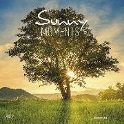 Cover-Bild zu Alpha Edition (Hrsg.): Sunny Moments 2022 - Broschürenkalender 30x30 cm (30x60 geöffnet) - Kalender mit Platz für Notizen - Bildkalender - Wandplaner - Alpha Edition