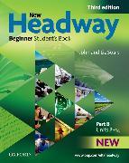 Cover-Bild zu Soars, John: New Headway: Beginner Third Edition: Student's Book B
