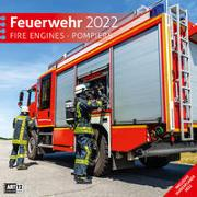 Cover-Bild zu Ackermann Kunstverlag (Hrsg.): Feuerwehr Kalender 2022 - 30x30