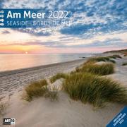 Cover-Bild zu Ackermann Kunstverlag (Hrsg.): Am Meer Kalender 2022 - 30x30