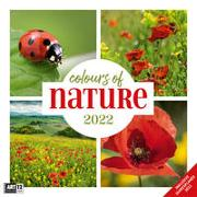 Cover-Bild zu Ackermann Kunstverlag (Hrsg.): Colours of Nature Kalender 2022 - 30x30