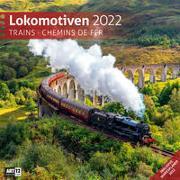 Cover-Bild zu Ackermann Kunstverlag (Hrsg.): Lokomotiven Kalender 2022 - 30x30