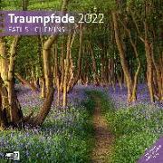 Cover-Bild zu Ackermann Kunstverlag (Hrsg.): Traumpfade Kalender 2022 - 30x30