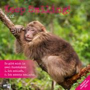 Cover-Bild zu Ackermann Kunstverlag (Hrsg.): Keep Smiling! Kalender 2022 - 30x30