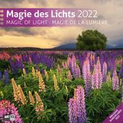 Cover-Bild zu Ackermann Kunstverlag (Hrsg.): Magie des Lichts Kalender 2022 - 30x30