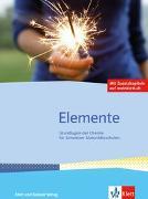 Cover-Bild zu Elemente. Schulbuch mit Zusatzkapiteln auf meinklett.ch von Stieger, Markus